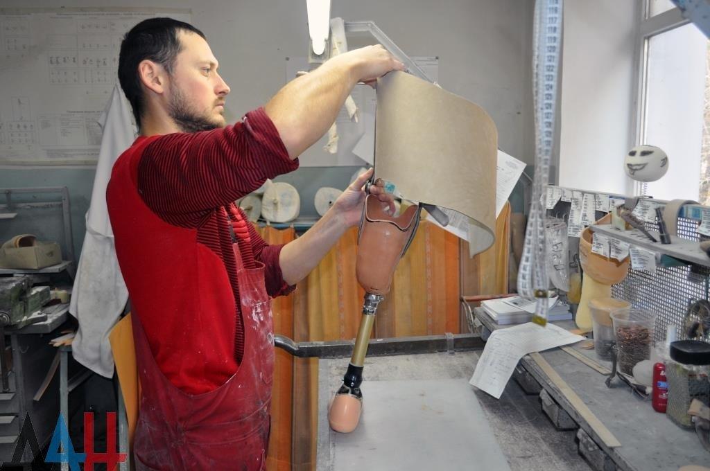В Протезно-ортопедическом центре ДНР получили помощь более 3300 человек за шесть месяцев, фото-1