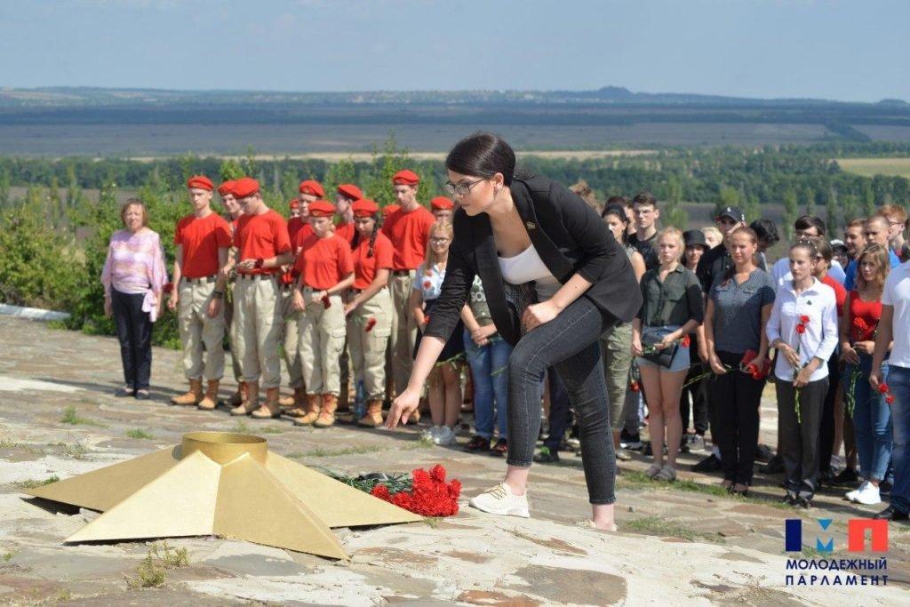 Памятные места «Миус-фронта» на востоке Республики посетили порядка 100 молодых патриотов ДНР , фото-1