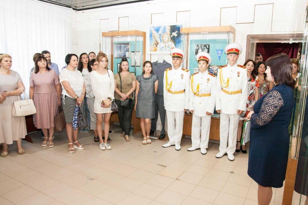 Выставку, посвященную космонавту из Енакиево Георгию Береговому открыл донецкий краеведческий музей, фото-1