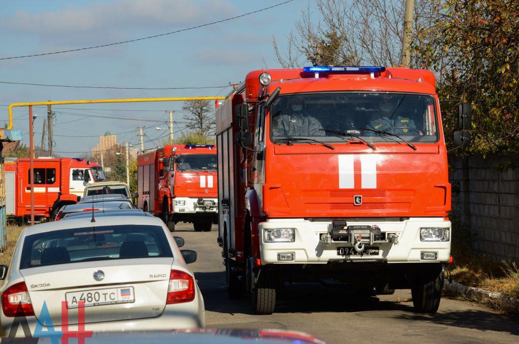 На пожарах в ДНР за неделю три человека погибли и двое пострадали, фото-1