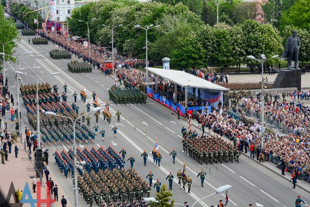 В Параде Победы в Донецке примут участие первые призывники ДНР , фото-1