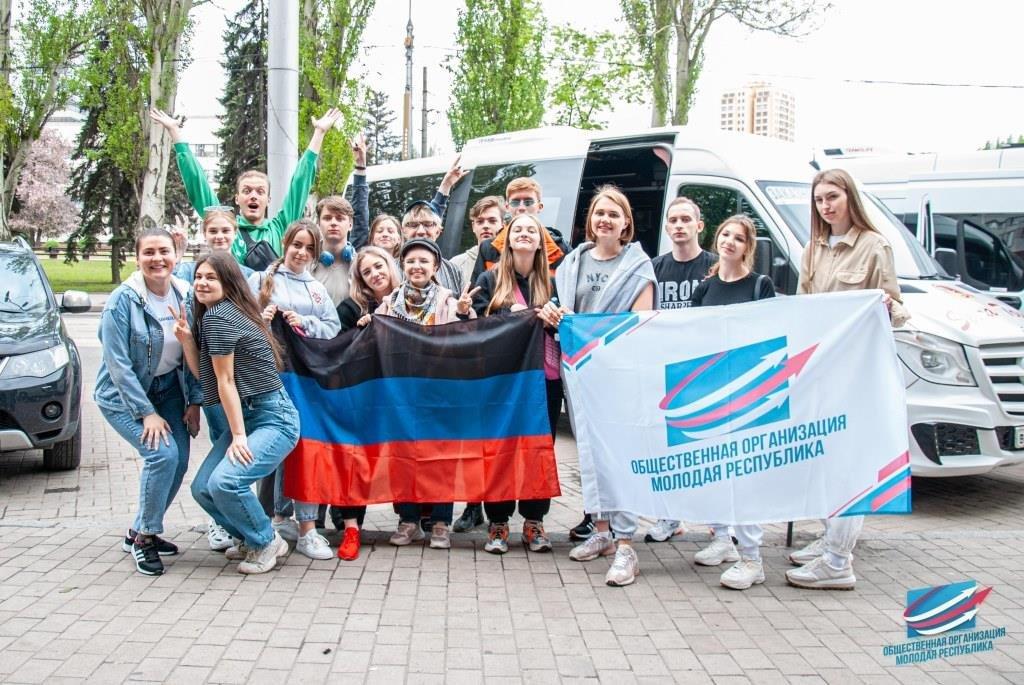 В ЛНР и Россию отправились делегации общественников и студентов ДНР , фото-1