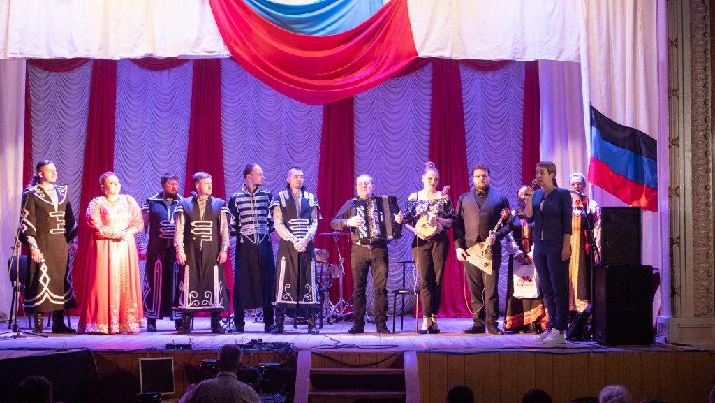 В столице ДНР в честь Дня России выступили коллективы из пяти регионов РФ, фото-1