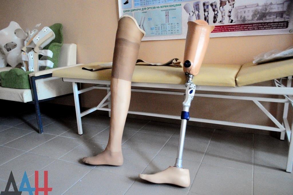 В ДНР за полгода обеспечены протезно-ортопедической продукцией около 3,5 тыс. человек , фото-1